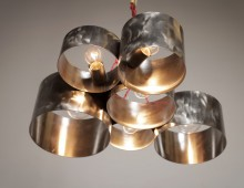 Alto Stainless Steel Pendent Lamp
