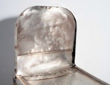 Stainless Bomber Chair