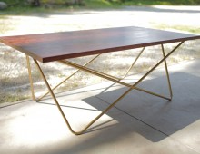 Brass Deluxe Coffee Table